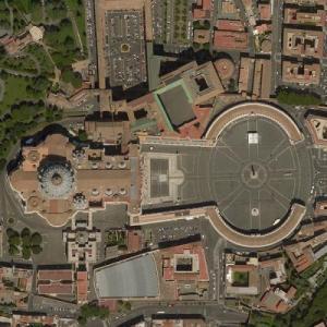 Città del Vaticano - Vatican City (Bing Maps)
