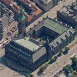 Copenhagen City Hall (Birds Eye)