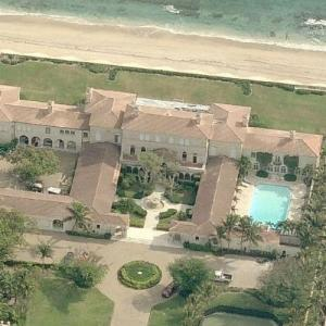 Franklin L. Haney's house (previously Veronica Hearst's estate) (Bing Maps)