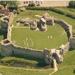 Pevensey Castle (Birds Eye)