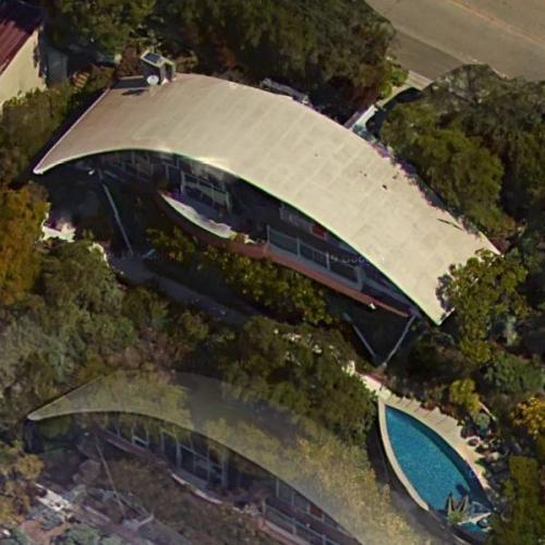 Garcia House by John Lautner (Birds Eye)