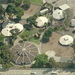 Midtown School by John Lautner (Birds Eye)