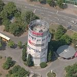 """Bunker """"Pragbunker"""" Stuttgart-Feuerbach (Birds Eye)"""