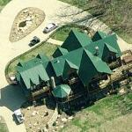Brad Paisley & Kimberly Williams' House (Birds Eye)