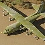 Lockheed C-130A Hercules (Birds Eye)