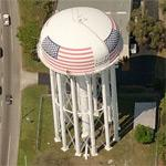 "Water tower ""City of Cocoa"""