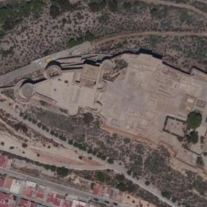 La Alcazaba (Bing Maps)