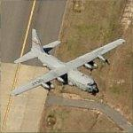 C-130 Departing Little Rock National Airport (Birds Eye)