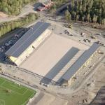 Jämtkraft Arena under construction