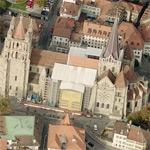 Cathedral Notre-Dame of Lausanne (Birds Eye)