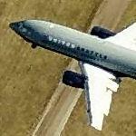 Approaching Kansas City International (Birds Eye)