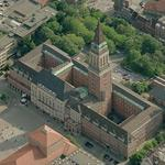 Kiel city hall (Birds Eye)