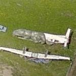 Disassembled Saab 340