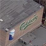 Giant Carlsberg beer can