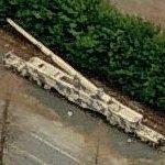 """K-5 """"LEOPOLD"""" 280 mm/11 inch railroad gun """"Anzio Annie"""" (Birds Eye)"""
