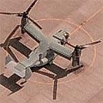 V-22 Osprey at Amarillo International (Birds Eye)
