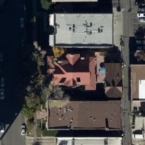 """Molly Brown (""""The Unsinkable Molly Brown"""") House (Birds Eye)"""
