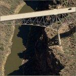 Rio Grande Gorge Bridge (Birds Eye)