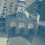 Cinquantenaire Arch (Birds Eye)