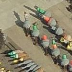 Ocean Buoy storage yard