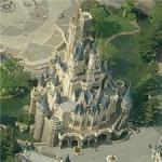 Tokyo Disneyland Cindarella's Castle (Bing Maps)