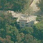 Brendan Fraser's house (former) (Birds Eye)