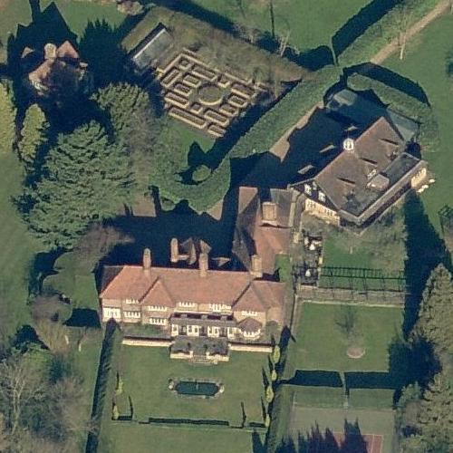 Roger Moore's House (former) in Denham, United Kingdom ...