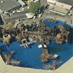 WaterWorld at Universal Studios (Birds Eye)