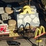 Giant McDonald's Happy Meal
