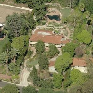 Scott Bakula's House (Birds Eye)