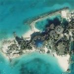 Peter Nygard's private island (Bing Maps)