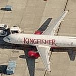 Kingfisher Airlines - Airbus A320-232 (Birds Eye)