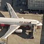 Air Berlin - Airbus A320-214 (Birds Eye)