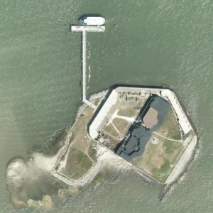 Fort Sumter (Bing Maps)