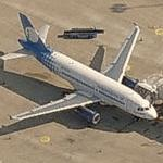 Independence Air - Airbus A319-132 (Birds Eye)