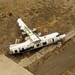 Broken up Dehavilland DHC-7-102