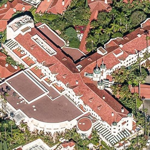 Beverly Hills Hotel (Birds Eye)