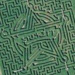 Sheriff maze (Bing Maps)