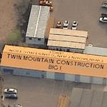 Twin Mountain Construction Big I (Birds Eye)