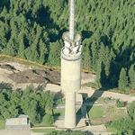 TV Tower of Oslo (Birds Eye)
