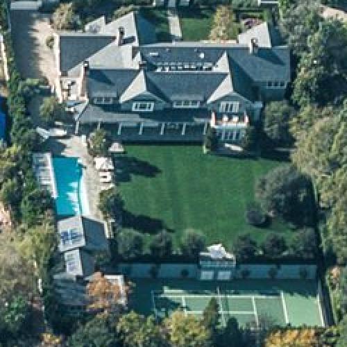 Steve Carell's House In Toluca Lake, CA (Google Maps) (#2