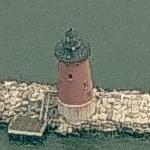 Delaware Breakwater Lighthouse (Birds Eye)