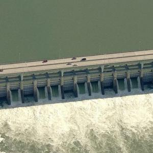 Chickamauga Dam (Birds Eye)