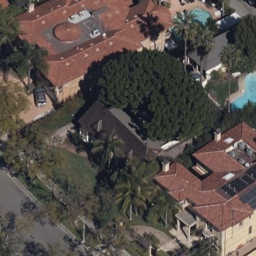 Marilyn Monroe and Joe DiMaggio's house (former) (Birds Eye)