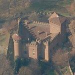 Castle of Medieval Village (Birds Eye)