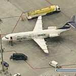 "Fokker 100 ""Simod Shoes"" (Birds Eye)"