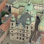 Cathedral St. Jacob Innsbruck (Birds Eye)