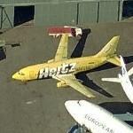 Boeing 737-204/Adv Hertz Logojet (Birds Eye)
