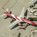 "Boeing 757-2G7 ""Arizona Cardinals"" (Birds Eye)"