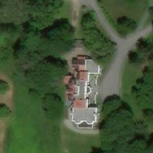 32th President of the USA - Franklin D. Roosevelt's house (former) (Birds Eye)